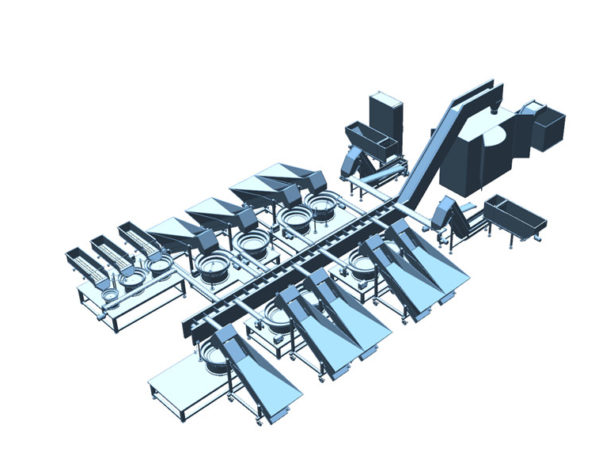 Pick to Pack Automated System
