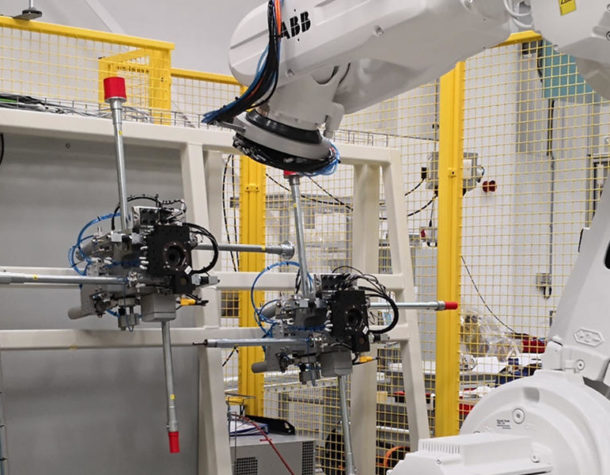 Robot Tank Punching Automation System